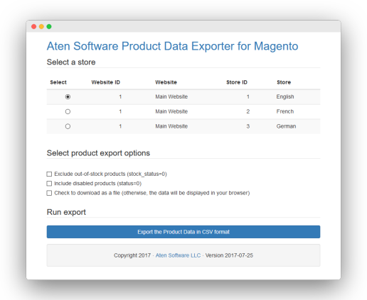 Product Data Exporter for Magento Screenshot.png