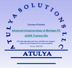 Atulya Solutions Practice Management Login